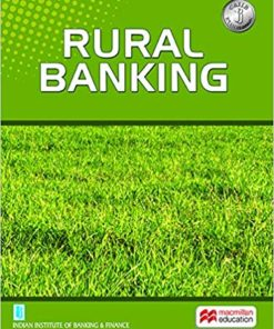 Macmillian's Rural Banking by Indian Institute of Banking & Finance (IIBF)
