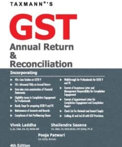 Taxmann's GST Annual Return & Reconciliation by Vivek Laddha - 4th Edition October 2021