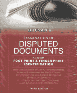 Sweet & Soft's Examination Of Disputed Documents by Bhuvan - 3rd Edition 2022