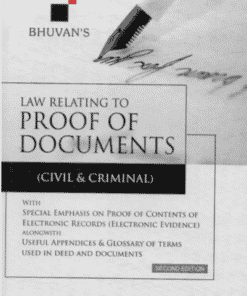 Sweet & Soft's Proof of Documents (Civil & Criminal) by Bhuvan - 2nd Edition 2022