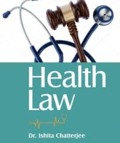 CLP's Health Law by Dr. Ishita Chatterjee 1st Edition 2019