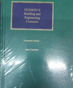 Sweet & Maxwell's Hudson's Building Engineering Contracts by Atkin Chambers - South Asian Edition 2021