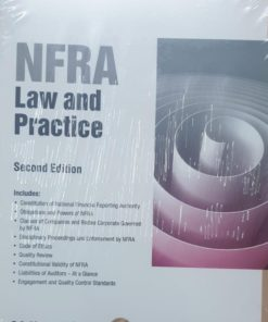 Wolters Kluwer NFRA- Law and Practice By Kamal Garg, 2nd Edition October 2019