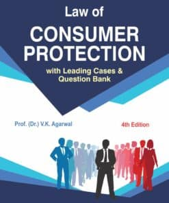Bharat's Law of Consumer Protection by Dr. V.K. Agarwal - 4th Edition 2021