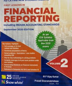 Snow White's First Lessons in Financial Reporting by M.P.Vijay Kumar for Nov 2020 Exams
