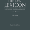 Lexis Nexis's The Law Lexicon–The Encyclopaedic Law Dictionary with Legal Maxims, Latin Terms, Words & Phrases by P Ramanatha Aiyar - 5th Edition December 2019