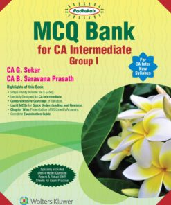 Wolters Kluwer's MCQ Bank for CA Intermediate Group I by G. Sekar for May 2020 Exam