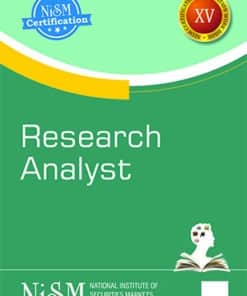 Taxmann's Research Analyst by NISM - Edition August 2021