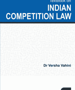 Lexis Nexis's Textbook on Indian Competition Law by Versha Vahini - 1st Edition August 2020
