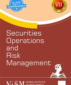 Taxmann's Securities Operations And Risk Management by NISM