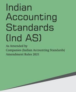 Taxmann's Indian Accounting Standards (Ind AS) - 4th Edition July 2021
