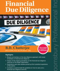 Bloomsbury's A Practical Guide to Financial Due Diligence by B.D. Chatterjee - 2nd Edition September 2021