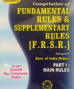 Nabhi's Compilation of Fundamental Rules & Supplementary Rules (F.R.S.R.) - Edition 2020