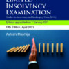 Bloomsbury's Analysis of Cases for Limited Insolvency Examination by Ashish Makhija - 5th Edition April 2021