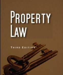 Lexis Nexis's Property Law by Poonam Pradhan Saxena - 3rd Edition 2017