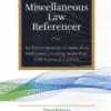 LJP's Miscellaneous Law Referencer by Dr. Justice B S Chauhan - 3rd Edition 2021