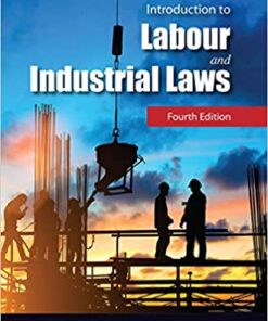 Lexis Nexis's Introduction to Labour and Industrial Laws by Avtar Singh - 4th edition 2017