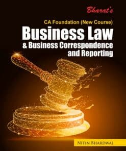 Bharat's Business Law & Business Correspondence and Reporting by Nitin Bhardwaj for May 2021 Exams