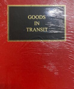 Sweet & Maxwell's Budgen: Goods in Transit - 4th South Asian Edition 2021