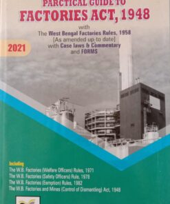Book Corporation's Practical Guide to Factories Act, 1948 - Edition 2021