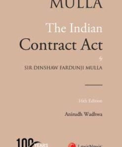 Lexis Nexis's The Indian Contract Act by Mulla - 16th Edition March 2021