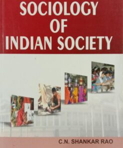 S Chand's Sociology of Indian Society by C.N. Shankar Rao