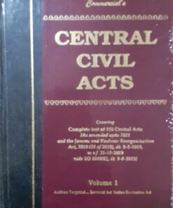 Commercial's Central Civil Acts (2 Volumes) - Edition 2021