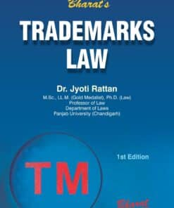 Bharat's Trademark Laws by Dr. Jyoti Rattan - 1st Edition June 2021