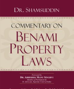 Commercial's Commentary on Benami Property Laws By Dr. Shamsuddin - 1st Edition 2021