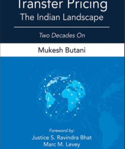 Lexis Nexis's Transfer Pricing–The Indian Landscape by Mukesh Butani - 3rd Edition 2021