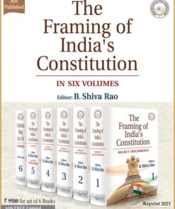 LJP's The Framing of India's Constitution by B. Shiva Rao - Reprint Edition 2021
