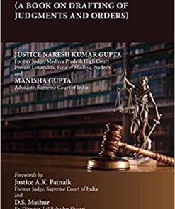 Thomson's Judge Your Judgment by Justice Naresh Kumar Gupta - 1st Edition 2021