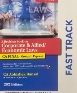 Commercial's Corporate Law & Allied / Economic Laws (Revision book) by Abhishek Bansal for Nov 2021