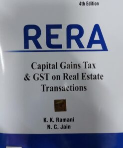 B.C. Publication's RERA By K.K. Ramani and N.C. Jain - 4th Edition August 2021