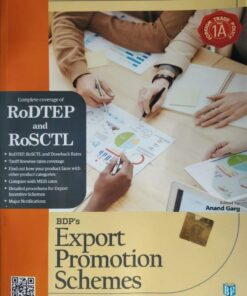BDP's Export Promotion Schemes (2021-22) by Anand Garg - 1st Edition 2021