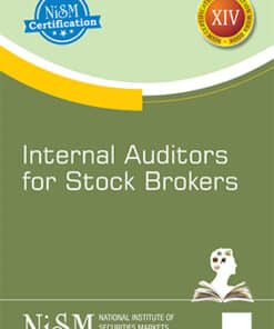 Taxmann's Internal Auditors for Stock Brokers by NISM - Edition August 2021