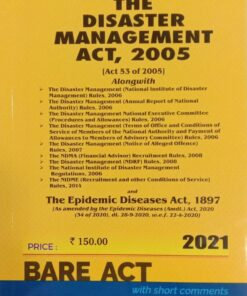 Commercial's The Disaster Management Act, 2005 (Bare Act) - Edition 2021