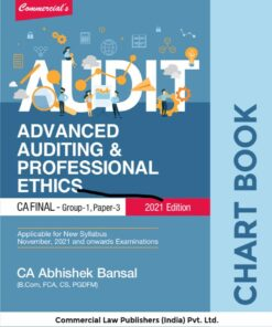 Commercial's Advanced Auditing & Professional Ethics (Chart Book) by Abhishek Bansal for Nov 2021 Exam