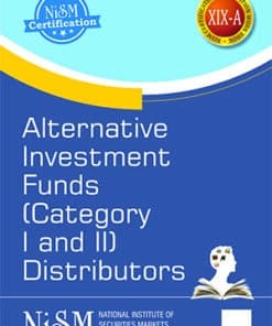 Taxmann's Alternative Investment Funds (Categories I and II) Distributors by NISM - Edition August 2021