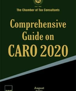 Taxmann's Comprehensive Guide on CARO 2020 - 1st Edition August 2021