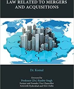 Thomson's Law Related to Mergers and Acquisitions by Dr. Komal - 1st Edition 2021