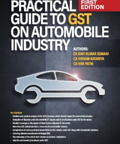 Bharat's Practical Guide to GST on Automobile Industry by CA Madhukar N. Hiregange - 1st Edition 2021