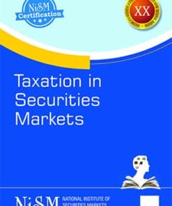 Taxmann's Taxation in Securities Markets by NISM - Edition September 2021